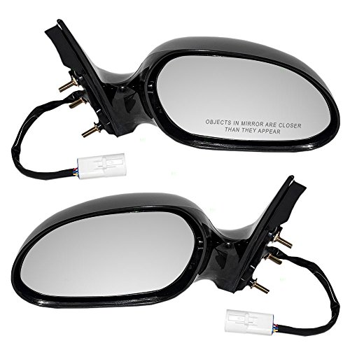 Driver and Passenger Power Side View Mirrors Smooth Replacement for Ford Mercury XF1Z 17682 DAW XF1Z 17682 FAA AutoAndArt ()