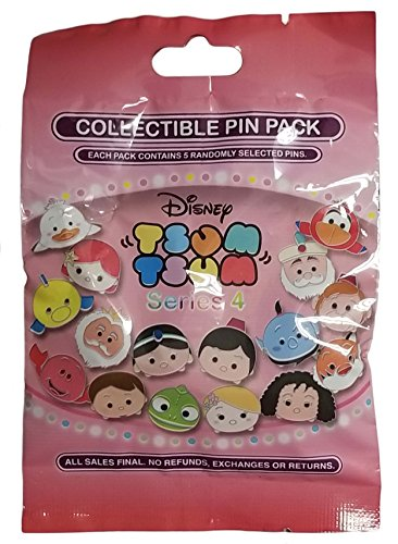 WDW Trading Pin - Tsum Tsum Mystery Pin Pack - Series 4