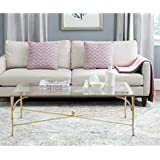 Safavieh Home Collection Maurice Gold Coffee Table