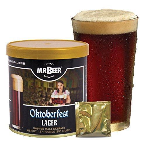 Mr. Beer Oktoberfest Lager Homebrewing Craft Beer Refill Kit (Beer Refill Kit)