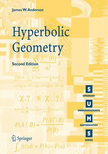 Hyperbolic Geometry (Springer Undergraduate Mathematics Series)