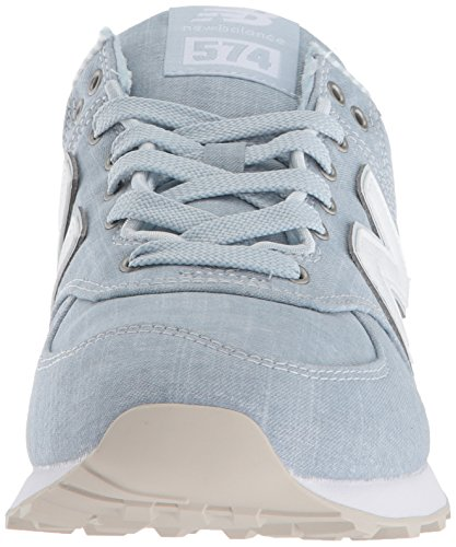 lage porselein licht wit sneakers Balance dames voor 574 New blauw TH4wq0EH