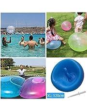 Giant Bubble Balls - Super Big Opblaasbare Water Bubble Ball Kinderen Zachte Lucht/Water Gevulde Grote Ballon voor Kinderen Volwassenen Zomerfeest en Water Speelspeelgoed