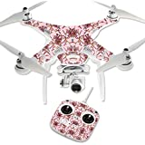 MightySkins Protective Vinyl Skin Decal for DJI Phantom 3 Standard Quadcopter Drone wrap cover sticker skins Flower Crown