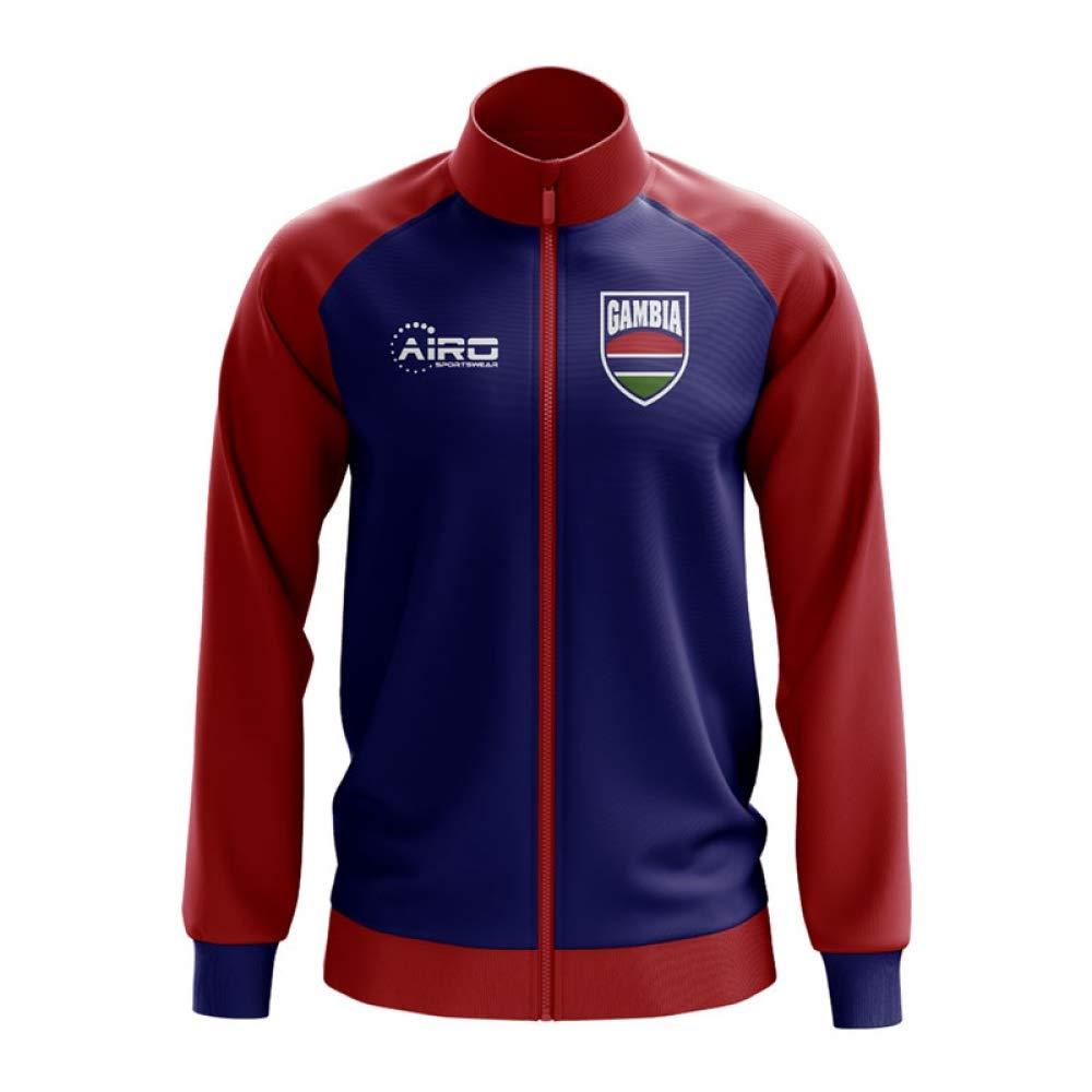 Airo Sportswear Gambia Concept Football Track Jacket (Blau)