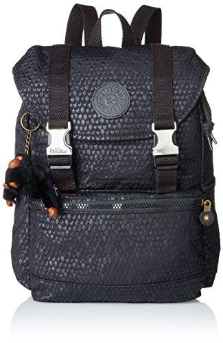 Kipling Women's Experience S Backpack Black (Black Scale Emb 19m)