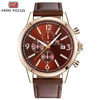 ZHANGZZ Reloj de Gama Alta,Reloj de Cuarzo, Mini Focus / MF0084G ...