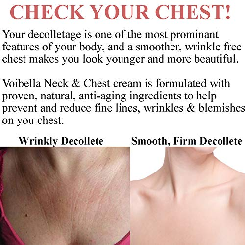 51Avog8%2Be0L - Best Neck & Chest Firming Cream for Sagging, Crepey Skin & Wrinkles. Anti-Aging Crepe Eraser, Turkey Neck Tightener & Decolletage Lotion. Works for Tightening Decollete, Double Chin, Arms, Body & Face