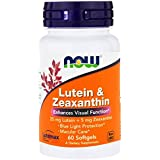 NOW Foods - Lutein & Zeaxanthin - 60 Softgels