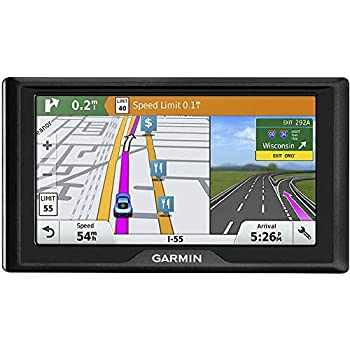 Image of Garmin Drive 60 LMT GPS Navigation System - U.S. & Canada, Lifetime Maps & Traffic (Renewed) Chargers & Cables