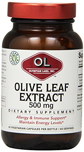 Cheap Olympian Labs Olive Leaf Extract, 500mg 60 Capsule