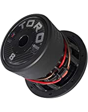 """TORO TECH – Force 8, 8 Inch 800 Watts RMS – 1600 Watts MAX – Dual 4 Ohm 2.5 Inch Voice Coil, 8"""" Car Audio Subwoofer for Cars, Trucks, Jeeps, Boats, Off Road with Hard Hitting Bass (Sold As Each)"""