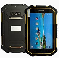 Hipipooo Rugged Tablet IP67 7.0 Inch Android 6.0 CPU MTK6735 Quadcore 1.3GHz HD 1280800 2GB RAM+16GM ROM Waterproof Shockproof and Dustproof Rugged Industrial Tablet for Enterprise Mobile Work