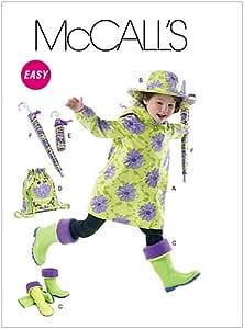 Amazon.com: McCall's Patterns M6392 Children's/Girls