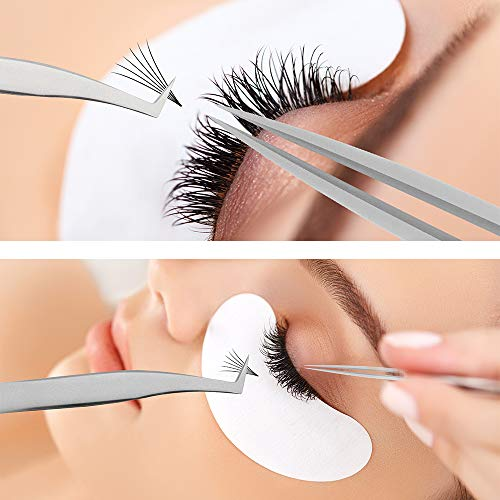 3a9e54e4d57 Premade Volume Fans Eyelash Extensions 4D/6D 12 Rows/Tray Short Stem Russian  Volumes