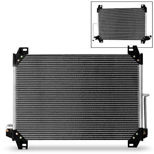 7-3054 Aluminum A/C Condenser For Buick Rainier Chevy Trailblazer GMC Envoy Oldsmobile Bravada Isuzu Ascender Saab 9-7x ()