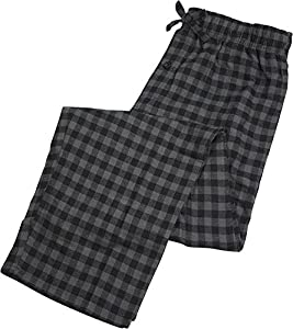 Fruit of the Loom - Mens Yarn Dyed Woven Flannel Sleep Lounge Pant