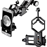 Landove Universal Smartphone Optics Digiscoping Adapter for Binoculars, Spotting Scopes, Telescopes, Monoculars-Adapter for iPhone7, SE, 6s, 6, 5, 5c, 5S, , S4, Note 4, Note 3 and others