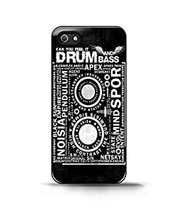 drum and bass Case For Htc One M9 Cover Back Case Cover