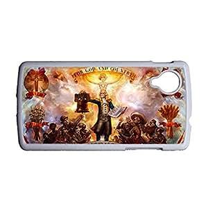 Generic Cute Back Phone Cover For Boy With Bioshock Infinite For Lg Google Nexus 5 Choose Design 2