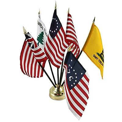 US Flag Store Historical Flag Desk Set