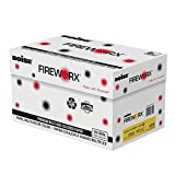 BOISE FIREWORX PREMIUM MULTI-USE COLORED PAPER, 8 1/2'' x 11'', Letter, Golden Glimmer, 20 lb., 5000 Sheets/Carton, 40 Cartons/Pallet