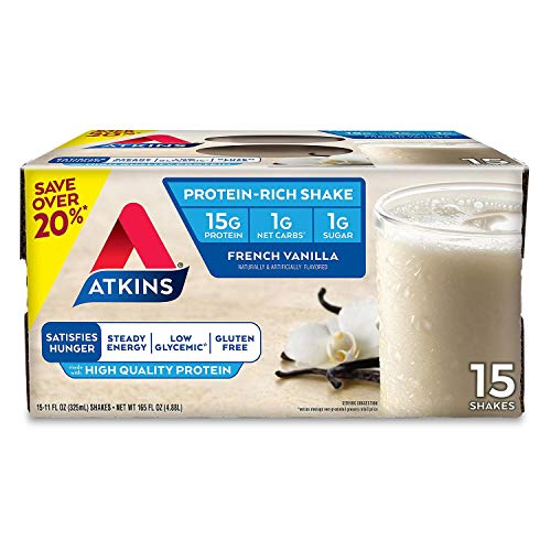 (Atkins Advantage French Vanilla Shake (11 fl. oz., 12 pk.))