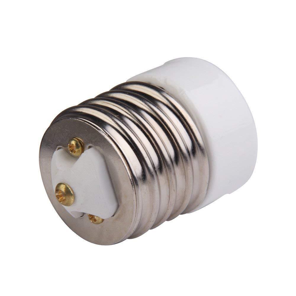 10pcs UL-listed Mogul (E39) to Standard Base Medium Edison Screw (E26/E27) Light Bulb Lamp Socket Porcelain Adapter Converter Reducer