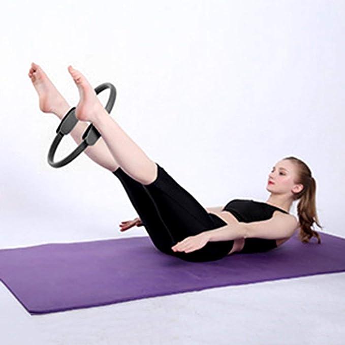 Yoga Pilates Ring Slimming Body Building Training Yoga ...