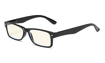 58945ba4e2d9 Eyekepper Computer Readers UV Protection, Anti Glare, Anti Blue Rays Reading  Glasses (Black