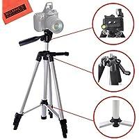 Lightweight 57-inch Camera Tripod for Nikon DL24-500, DL18-50, DL24-85, DF, D300s, D500, D600, D610, D700, D750, D800, D810, D3200, D3300, D3400, D5200, D5300, D5500, D5600, D7000, D7100, D7200 DSLR