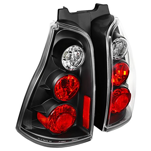 Spec-D Tuning LT-4RUN03JM-TM Spec-D Altezza Tail Light Black