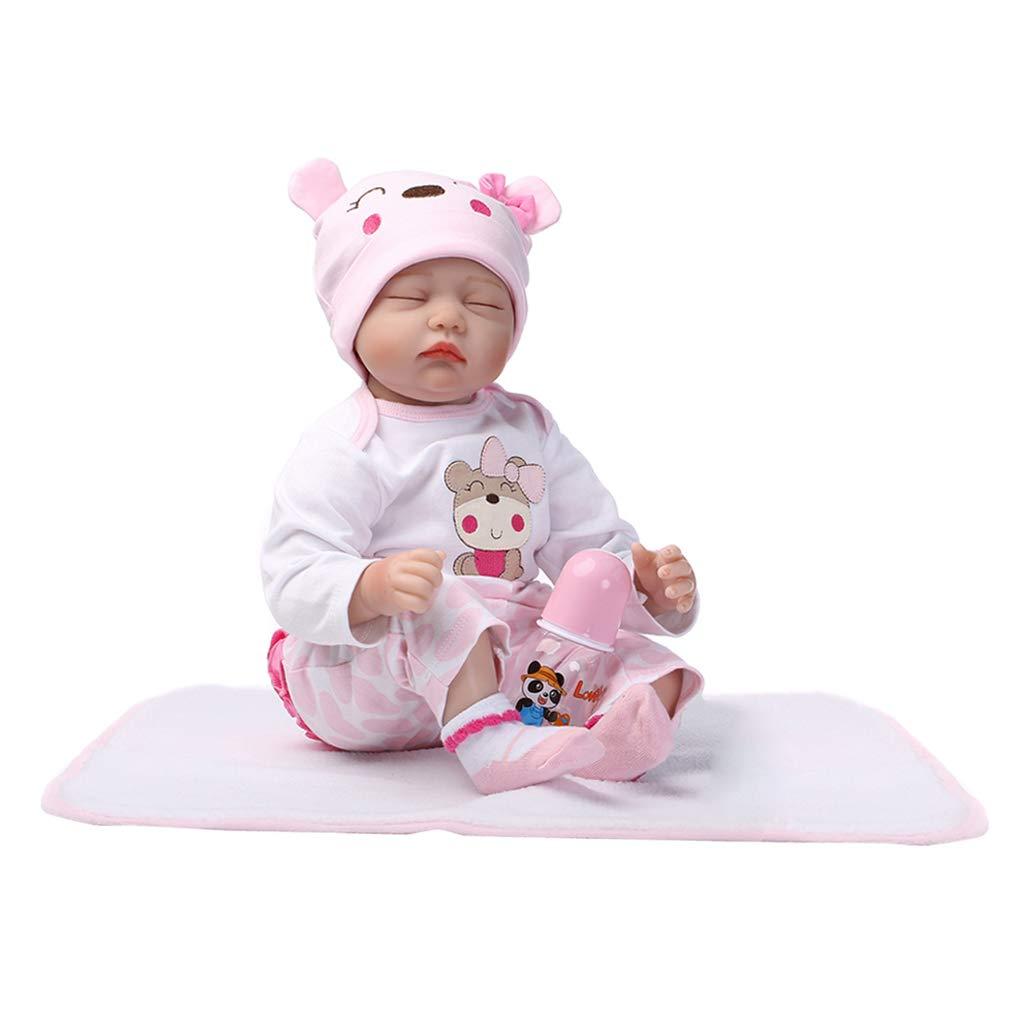 P Prettyia 55cm Realistische Silikon Babypuppe Neugeborenes Baby Doll mit Kleidung Kinder Spielzeug Geburtstagsgeschenk -   4 B07JKWVRGK Babypuppen Smart  | Beliebte Empfehlung