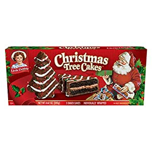 Little Debbie Christmas Tree Cakes (Chocolate), 2 boxes: Amazon.com: Grocery & Gourmet Food
