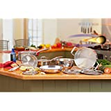 Paderno Fusion5 11-pc. Cookware Set 18/10 Stainless Steel