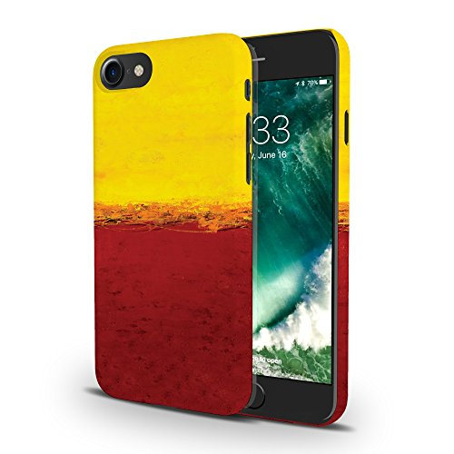 Koveru Back Cover Case for Apple iPhone 7 - Yellow and Red
