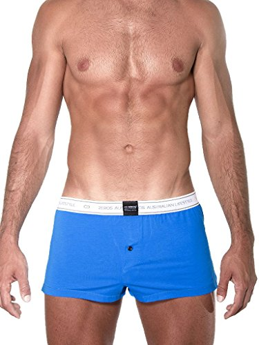 Boxer 2eros 009 Blau Men Core Short Blau UHxSqU8fw