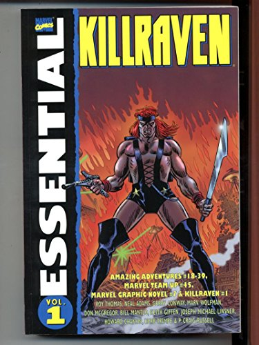 Essential Killraven Vol 1 Marvel 2005 First Printing