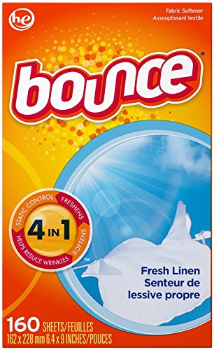 Bounce Fabric Softener Sheets, 160 Count