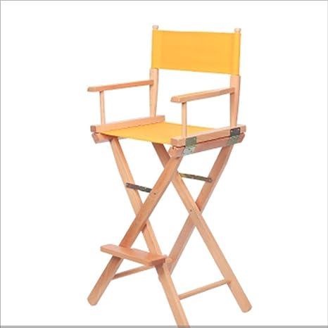 Feifei Lazy Chair Silla Plegable Plegable de Madera sólida ...