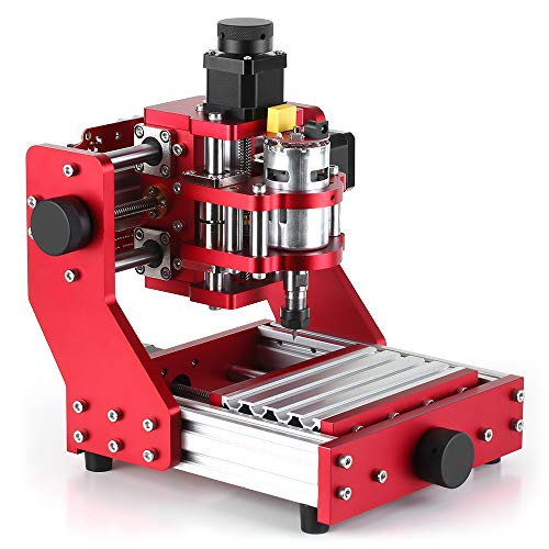 Festnight Mini CNC Router 1310 CNC Metal Engraving Milling Machine Kit PCB Wood Milling Machine Engraver with ER11 Collet