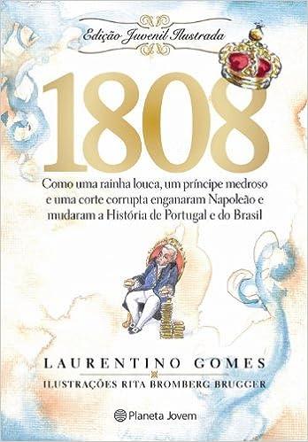 1808 (Em Portuguese do Brasil): Amazon.es: Laurentino Gomes: Libros