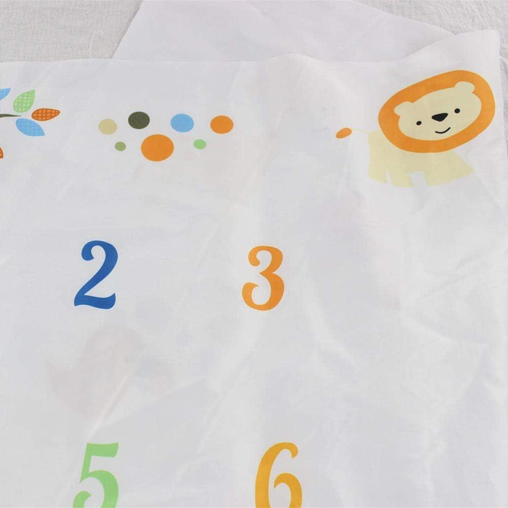 kinnter Baby Monats Coperta per Ragazzi e Ragazze Unisex Baby Fotografia mensile meilenstein Coperta per Bambini Baby Milestone Fotografia Requisiten Coperta per Bambini meilenstein