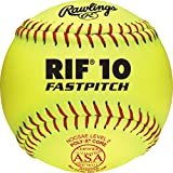 Rawlings ASA Rif Fastpitch Softball, 12 Count, R12RYSA