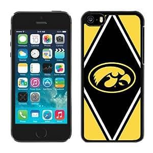 LJF phone case Customized Iphone 5c Case Ncaa Big Ten Conference Iowa Hawkeyes 21