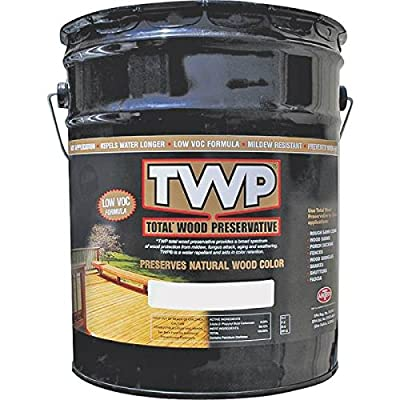 Amteco Twp-1516-5 Twp Rustic Stain, 5 Gallon