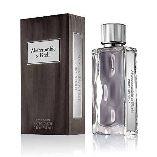 Abercrombie Fitch First Instinct Eau de Toilette Men s Fragrance Fresh, Clean, Pleasant Scent with Notes of Gin Tonic, Kiwano Melon, Szechuan Pepper, and Sueded Musk 3.4 oz