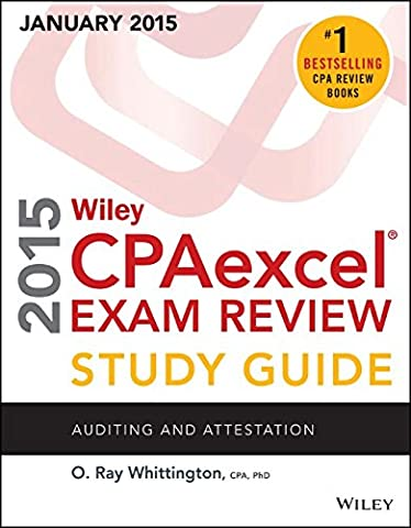 Wiley CPAexcel Exam Review 2015 Study Guide (January): Auditing and Attestation (Wiley Cpa Exam (Wiley Cpa Excel Exam Review 2015)