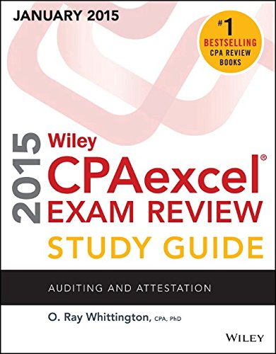 Wiley CPAexcel Exam Review 2015 Study Guide (January): Auditing and Attestation (Wiley CPA Exam Review) (Best Excel Tips For Accountants)