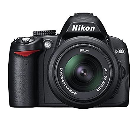 Nikon D3000 - Cámara Réflex Digital 10.2 MP (Cuerpo ...